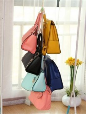 Adjustable Handbag Rack