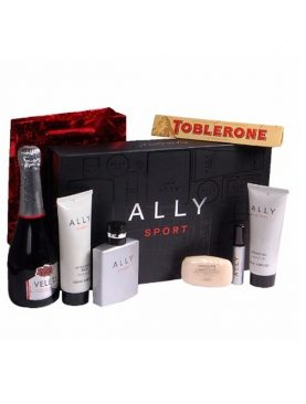 Ally Sport Gift Set For Him - 7 Piece