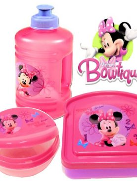 Disney Minnie Mouse Snack Plate & Cup Set