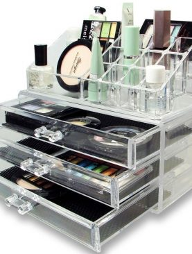 Jewelry and Cosmetic Storage Display Box