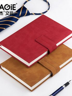 Vintage Leather Notepad
