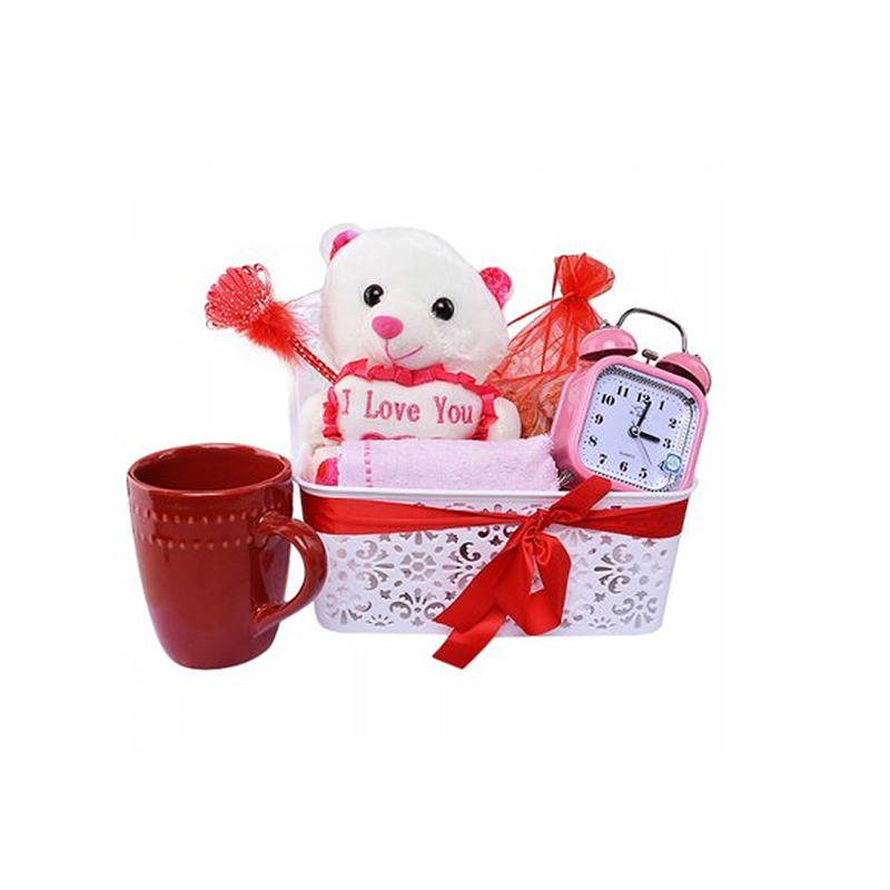 Valentine Teddy Hamper--No--No