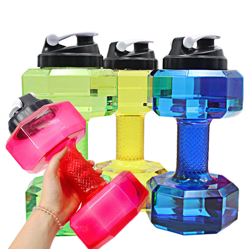 Dumbbell Water Bottle.